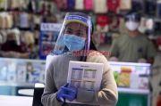 PT Transjakarta Terima Bantuan 2.500 Faceshield dari Bank DKI