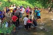 Sadis, Diduga Dibuang Bayi Ini Ditemukan Meninggal di Sungai Serang