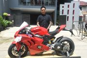 Pemilik Pertama Ducati Panigale V4 di Indonesia Pamerkan Motor Ber-DNA MotoGP