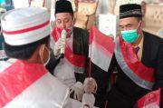 Unik, Pria Bengkulu Akad Nikah Pakai Tongkat Bendera