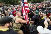Bentrok Kelompok Sayap Kanan dan Kiri Pecah di Beberapa Negara Bagian AS