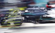 Lewis Hamilton Kampiun Grand Prix Formula 1 di Barcelona