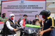Gubernur Khofifah Kirim Ratusan Bingkisan untuk Perintis Kemerdekaan