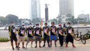 Lewati Puluhan Rute, Jelajah Nusantara Alfamart Gowes Berakhir di Tugu Libra