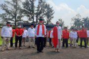 Tarung Pilkada Tangsel, Rahayu Saraswati Ziarah Makam Pahlawan Lengkong