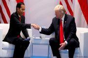 Trump pada Jokowi: Selamat Hari Kemerdekaan untuk Indonesia