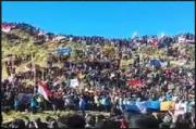 Ratusan Pendaki Ikuti Upacara Kemerdekaan di Puncak Gunung Sumbing