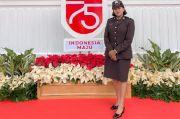 Bripda Pol Carollina, Polwan Cantik MC Utama HUT ke-75 RI di Istana Negara