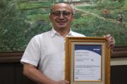 PJT I Terima Sertifikat Sistem Manajemen Anti Penyuapan