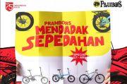 Rayakan HUT RI, Prambors Bagi Sepeda Setiap Hari di Minggu Kemerdekaan