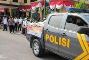 Semarak HUT RI, Polres Batubara Salurkan Sembako untuk Warga Terdampak