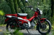 Honda CT125 Bebek Trekking Resmi Masuk Pasar Indonesia
