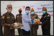 Pelindo I Bagikan 3.080 Paket Sembako, Bantu Sesama Lawan COVID-19