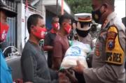 Jelang Penerapan Sanksi Hukum Masker, Polisi Mojokerto Long March