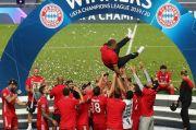 Ukir Sejarah, Flick Bebaskan Bayern Rayakan Sukses Rajai Liga Champions