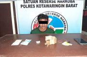 Simpan Sabu di Daun Pisang, Pengangguran di Kobar Dicocok Polisi
