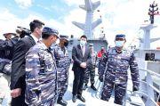 Dua Kapal Perang Baru Produksi Dalam Negeri Perkuat Armada Tempur TNI AL