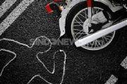 Dua Sepeda Motor Tabrakan di Kediri, 1 Tewas 3 Kritis
