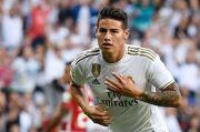 Dilepas Madrid, James Rodriguez Selangkah Lagi Gabung Everton
