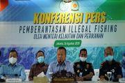 Selama Sepuluh Bulan, KKP Tangkap 71 Kapal Illegal Fishing di Perairan Indonesia