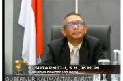 Raih KDI 2020, Gubernur Sutarmidji Ungkap Upaya Atasi Covid-19
