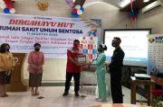 MNC Peduli dan Lotte Mart Bagikan Bingkisan untuk Petugas RS Sentosa Bogor