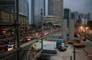 Proyek MRT Fase II, Dishub DKI Lakukan Rekayasa Lalu Lintas