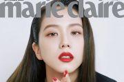 Jadi Model Majalah Marie Claire, Netizen Terpesona Lipstik Merah Jisoo BlackPink