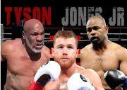 Coba Milih Mana: Nonton Duel Mike Tyson vs Roy Jones Atau Canelo