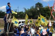 Desak Bupati Blitar Tertibkan Tambang Ilegal, Massa PMII Disatroni Preman
