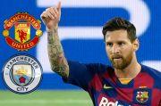 Rooney Sarankan Messi Gabung Manchester United atau City