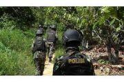 Buru Kelompok Bersenjata Aparat Gabungan Diserang, 2 Orang Ditangkap