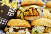 Burger Ayam Lezat Kaya Rasa di Burger Bros