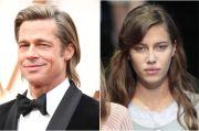 Brad Pitt Resmi Pacari Model Jerman Nicole Poturalski
