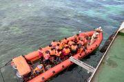 Diterpa Angin Kencang KM Sabuk Nusantara 109 Kandas