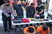 Kerap Resahkan Warga, Dua Bandit Sepeda Motor Digulung Polisi