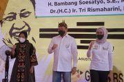 Puji Kemajuan Surabaya, Sinyal Apa yang Dikirim Bamsoet ke Risma?