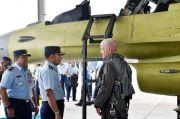 Kemhan Serahkan Dua Pesawat Tempur F-16 Upgrade ke TNI AU