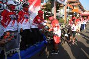 Gowes Seduluran Virtual 75 KM Untuk Indonesia Maju Capai Finish