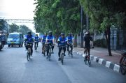 Dirikan Komunitas Sepeda, Sahroni Kampanyekan Bersepeda Aman