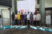 Masjid Nusantara Hibahkan 20 SALAM, Alat Pembersih Lantai dari COVID-19