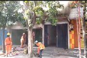 Pintu Ruko Susah Dibuka, 5 Orang Tewas dalam Kebakaran di Surabaya