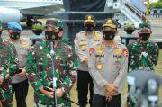 TNI-Polri Patroli Skala Besar di Tempat Agak Rawan