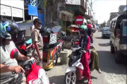 Tak Bermasker di Pasar, Warga Wajo Kabur Lihat Satpol PP
