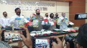 Penyelundupan 6,5 Kilogram Sabu Asal Malaysia Digagalkan Polisi
