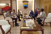Jelang Kompetisi Liga Bergulir, PSSI dan PT LIB Temui Kapolda Jateng