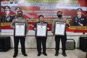Berkat Prestasi Ini, 3 Perwira Polres Tulungagung Terima Penghargaan