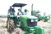 Mentan Ajak Masyarakat Kalteng Sentuh Program Pertanian Food Estate