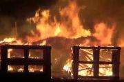 Waduh, Ancaman Kebakaran Tinggi, Mobil Damkar Majalengka Malah Rusak