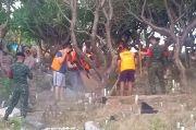 Masih Ogah Pakai Masker Bakal Kena Sanksi Bersih-Bersih Kuburan COVID-19